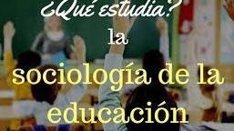 Sociología de la Educación CBBA